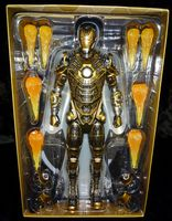Hot Toys - Iron Man 3: Iron Man 'Bones' Mark XLI - 1/6 Scale Movie Masterpiece Collectible Figure